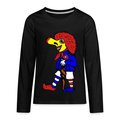 TEENAGER Langarm-Shirt - stehender Waggis - Teenager Premium Langarmshirt
