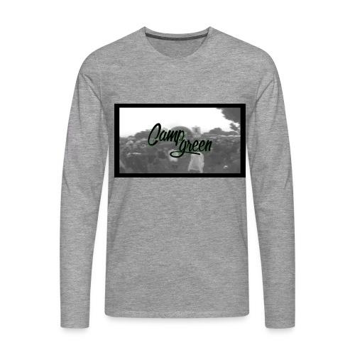 CampGreen Skyline Langarmshirt Grey (m) - Männer Premium Langarmshirt