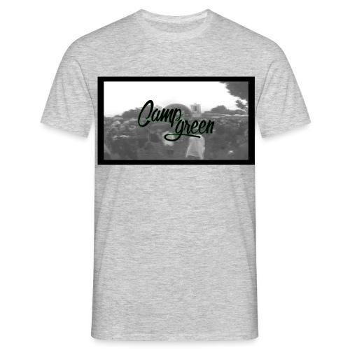 CampGreen Skyline Shirt Grey  - Männer T-Shirt