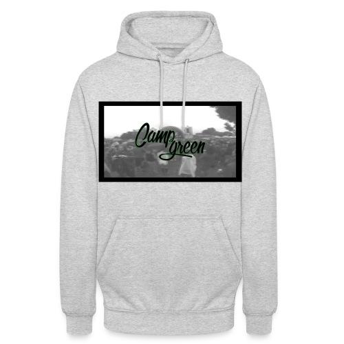 CampGreen Skyline Hoddie Grey (uni) - Unisex Hoodie