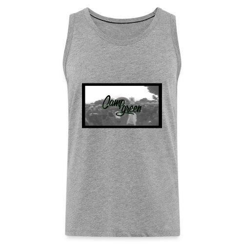 CampGreen Skyline TankTop Grey - Männer Premium Tank Top
