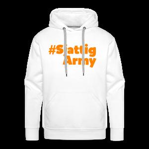 (Oranje) #SjattigArmy Sweater - Mannen Premium hoodie