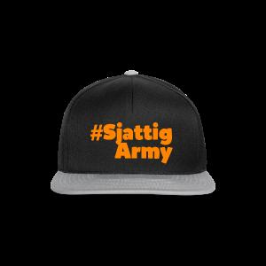 (Oranje) #SjattigArmy Pet - Snapback cap