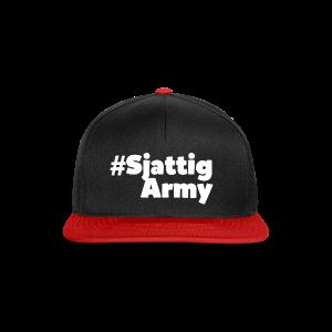 (Witte) #SjattigArmy Pet - Snapback cap