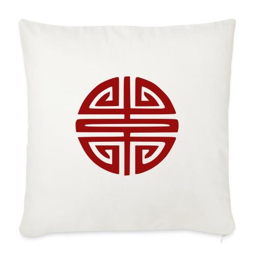Coussin symbole bonheur Vietnam - Housse de coussin décorative 44x 44cm