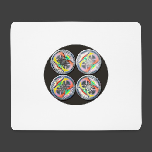 Five Spheres - Mouse Pad (horizontal)
