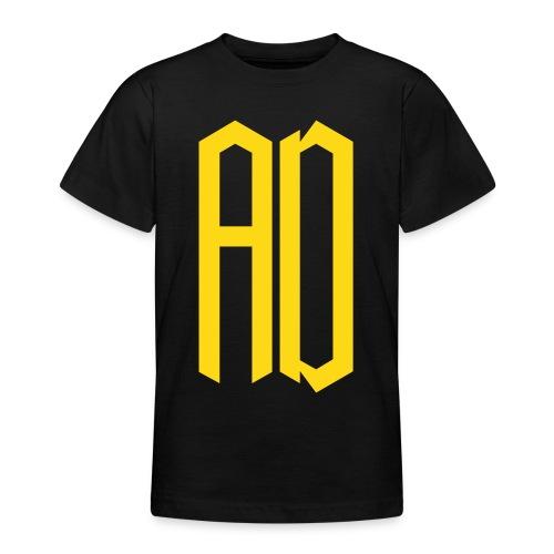 AD Enfant  (9 à 14 ans) NOIR & JAUNE - T-shirt Ado