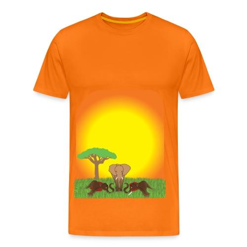 Save The Elephant - André Ketola - Premium-T-shirt herr