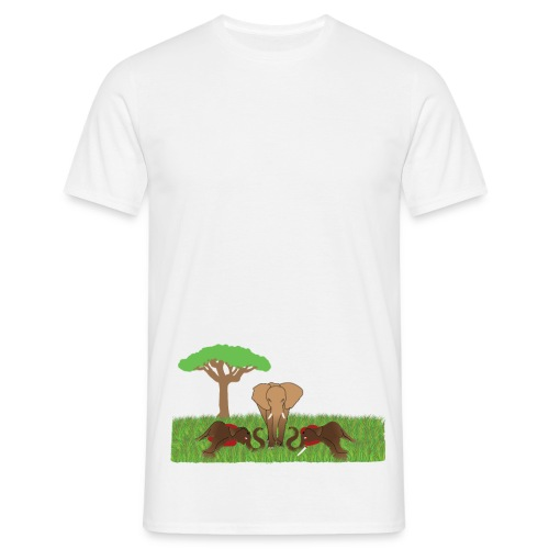 Save The Elephant - André Ketola - T-shirt herr