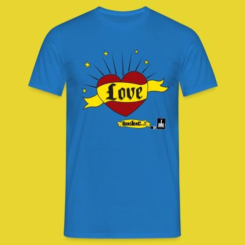 LOVE - DANSONC..! - T-shirt Homme