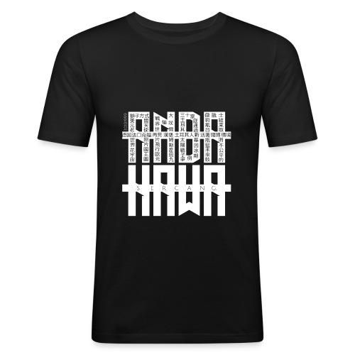 Männer T-Shirt | AndaKawa Logo - Männer Slim Fit T-Shirt