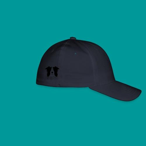 Flexfit Basecap Logo Seite Schwarz - Flexfit Baseballkappe