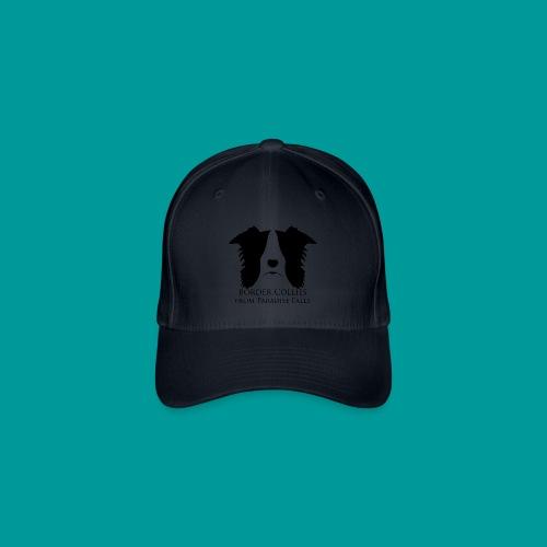 Flexfit Basecap Logo Vorne Schwarz - Flexfit Baseballkappe