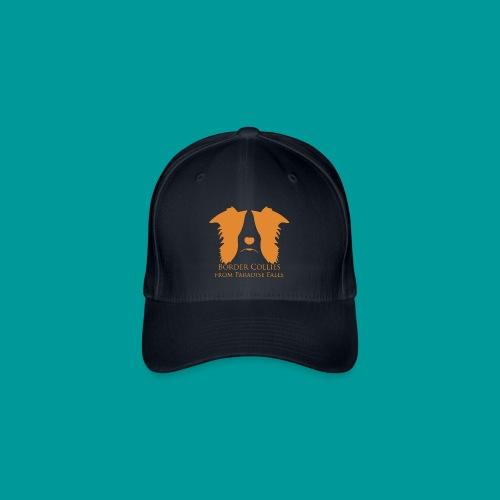 Flexfit Basecap Logo Vorne Orange - Flexfit Baseballkappe