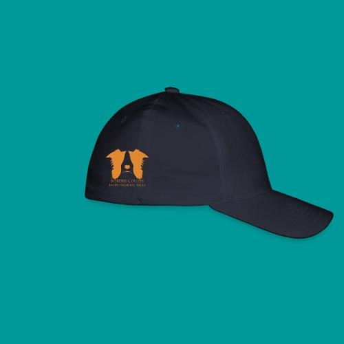 Flexfit Basecap Logo Seite Orange - Flexfit Baseballkappe