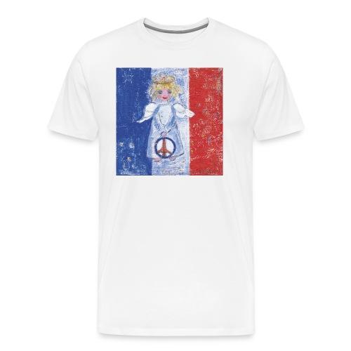 Friedensengel - Männer Premium T-Shirt