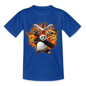 Kung Fu Panda Master Gruppe Teenager T-Shirt - Teenager T-Shirt