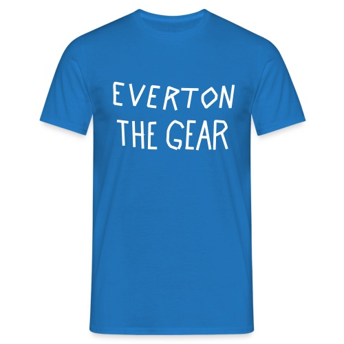 Men's FA Cup 'EVERTON THE GEAR' tshirt  - Men's T-Shirt