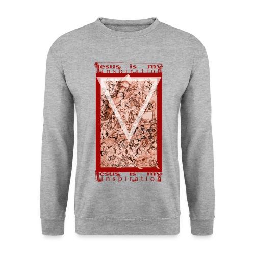 Jesus my inspiration - Männer Pullover