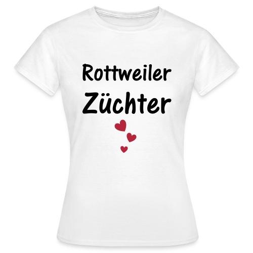 Rottweiler Züchter - Frauen T-Shirt