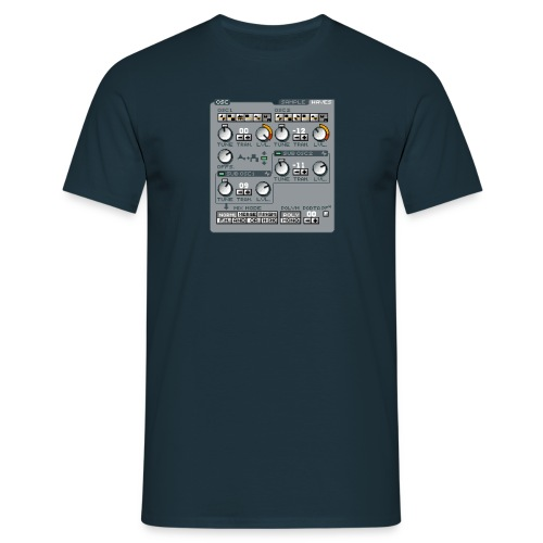 Ace Midi Synthesizer - Männer T-Shirt