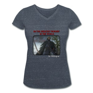 BLOODBORNE - THE GREATEST BORNER IN THE WORLD - T-shirt ecologica da donna con scollo a V di Stanley & Stella