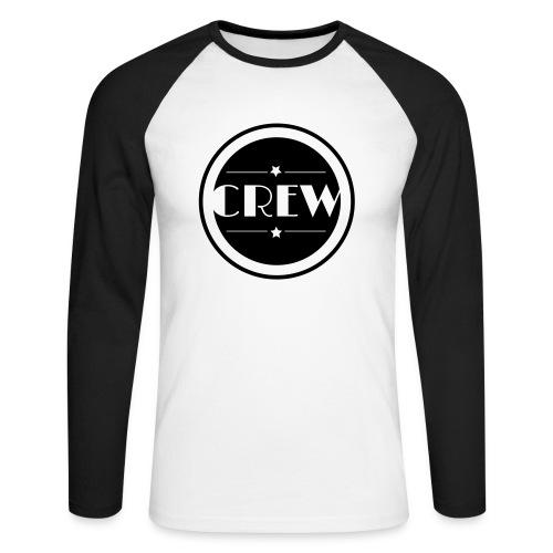 Crew - Shirt - Männer Baseballshirt langarm