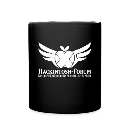 Keramiktasse schwarz - Hackintosh-Forum - Tasse einfarbig