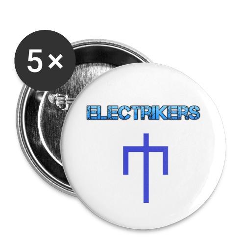 Badge Electrikers 56mm - Badge grand 56 mm