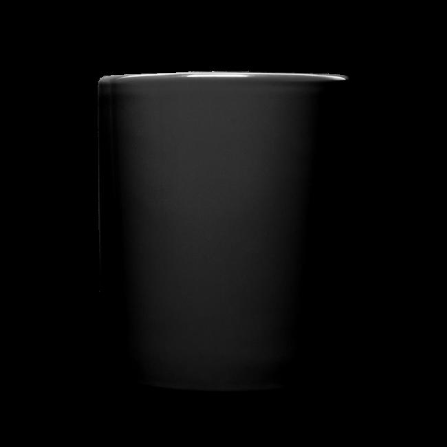 Mission Patch  Leftie Ceramic Mug - Black