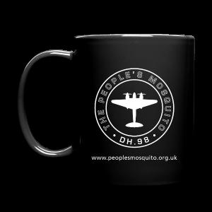 Mission Patch Ceramic Mug - Black - Full Colour Mug