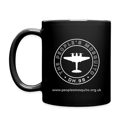 Mission Patch Ceramic Mug - Black - Full Colour Mug