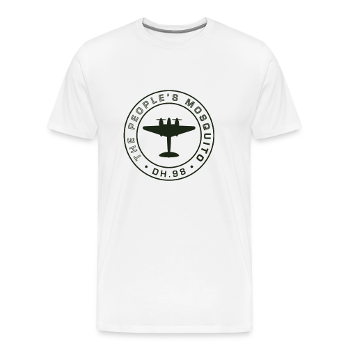 Men's MP Logo T-shirt - White - Men's Premium T-Shirt