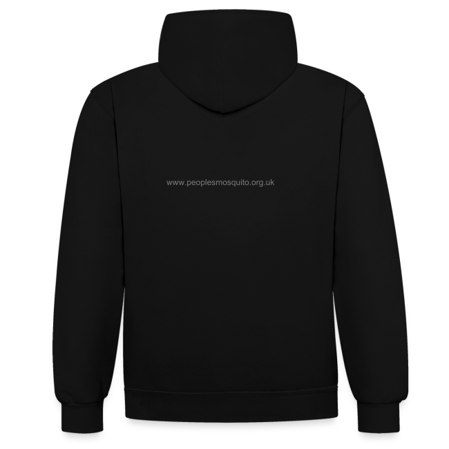 Unisex 2-Tone MP Hoodie - Black/Grey