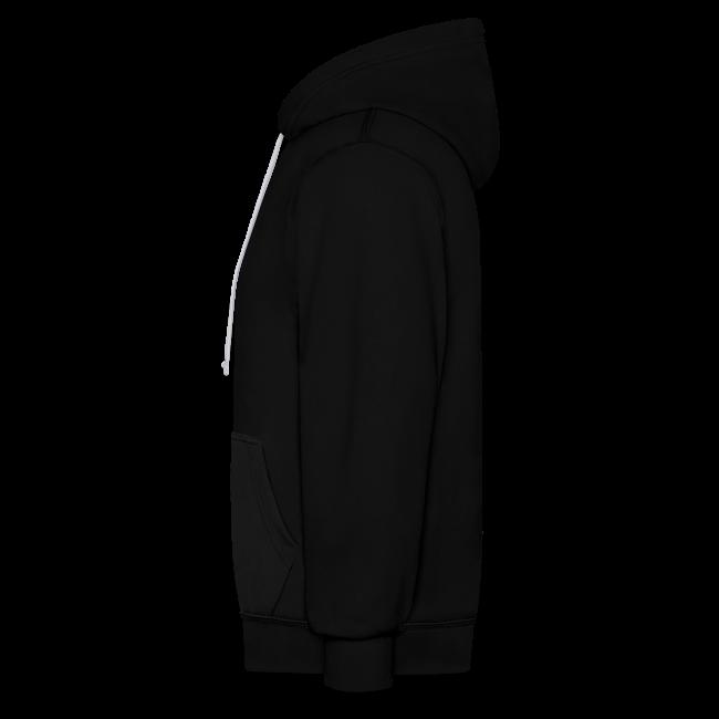 Unisex 2-Tone MP Hoodie - Black/Grey