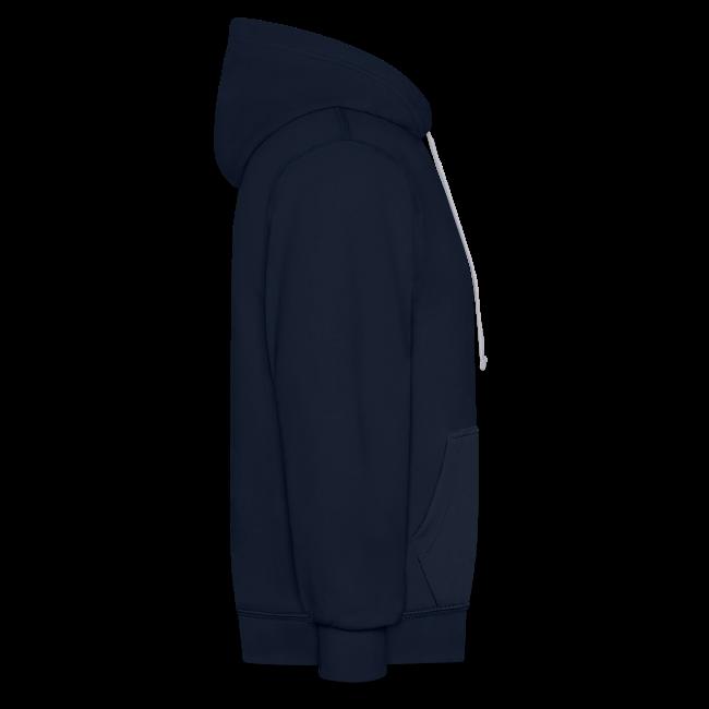 Unisex 2-Tone MP Hoodie - Navy/Grey