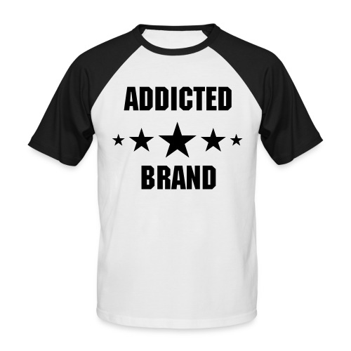 Addicted Brand Tee - Männer Baseball-T-Shirt