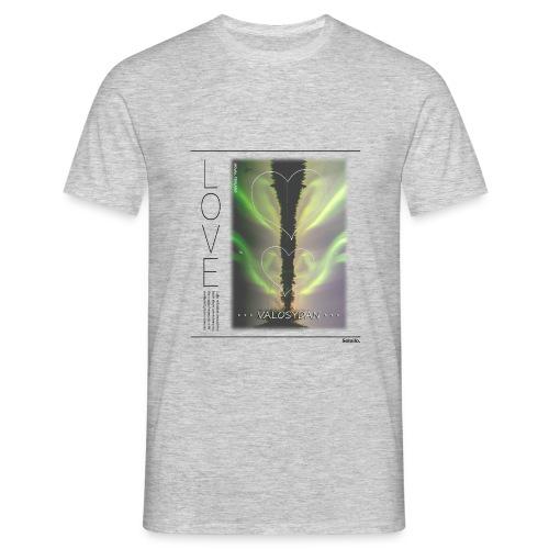 LOVE Valosydän Aurora T-shirt (Men's) - Men's T-Shirt