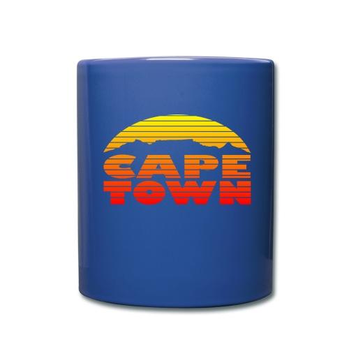Cape Town Mug blue - Tasse einfarbig