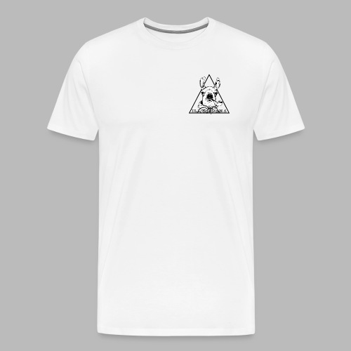 Illumilama T-shirt Fan Art White - Men's Premium T-Shirt