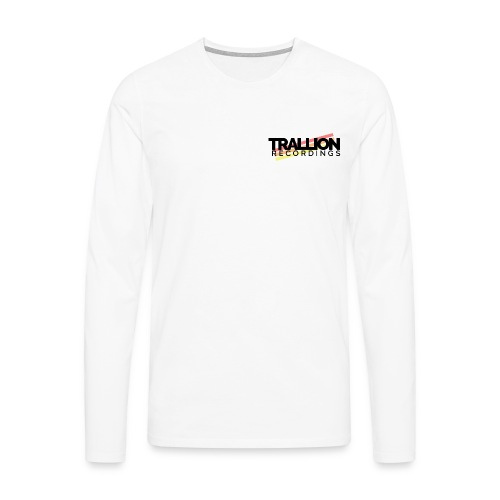 Trallion Recordings (Men's) Premium Long Sleeve Shirt - Men's Premium Longsleeve Shirt