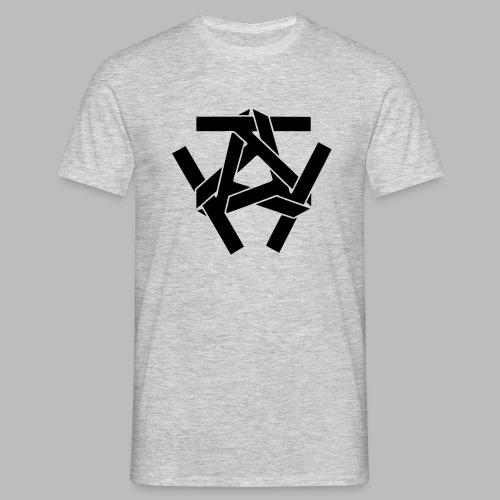 Schwarzes Clan Logo vorne - Vers. Farben - Männer T-Shirt