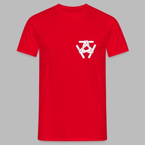Brust Logo - Vers. Farben - Männer T-Shirt