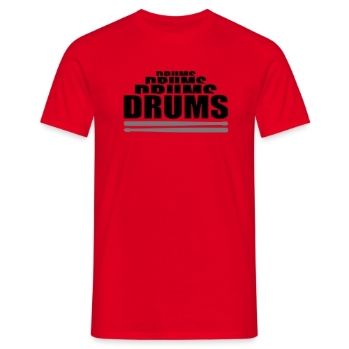 Mens Drums - Men's T-Shirt