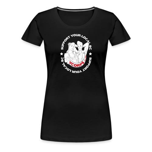 Slim Fit Black Local BC - Women's Premium T-Shirt