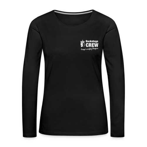 Ladies long sleeved Backstage Crew shirt - Women's Premium Longsleeve Shirt