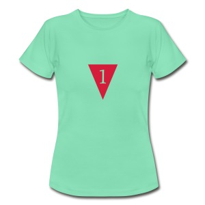 Last-k one-sided - Vrouwen T-shirt