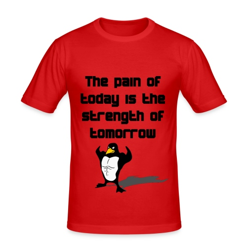 The Pain of Today - Männer Slim Fit T-Shirt