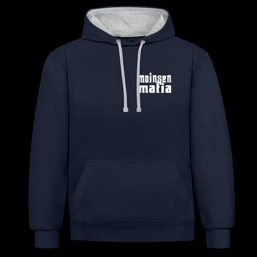 Moinsen Mafia Kontrasthoodie - Kontrast-Hoodie