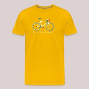 08-30 Fixie Fahrrad - Männer Premium T-Shirt